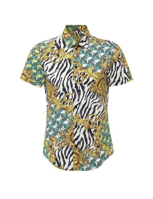 Versace Jeans | Мужская Многоцветная Рубашка