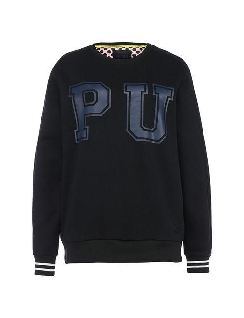 Puma | Чёрные Свитшот