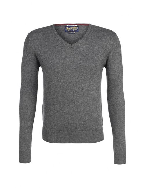 Alcott | Мужской Серый Пуловер