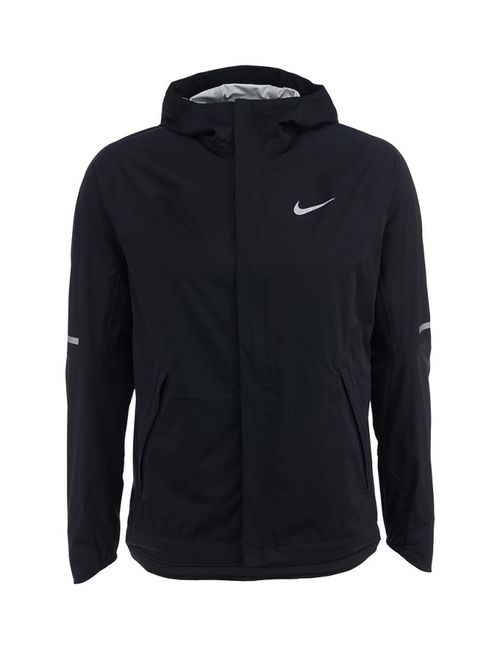 Nike   Мужская Чёрная Ветровка