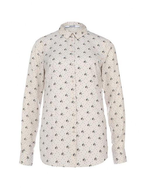 Liu •Jo Jeans | Женская Бежевая Блуза Liu Jo Jeans