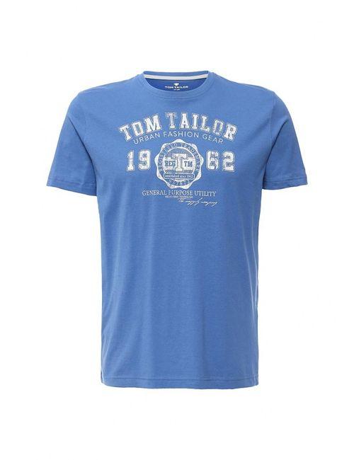 TOM TAILOR | Мужская Голуба Футболка