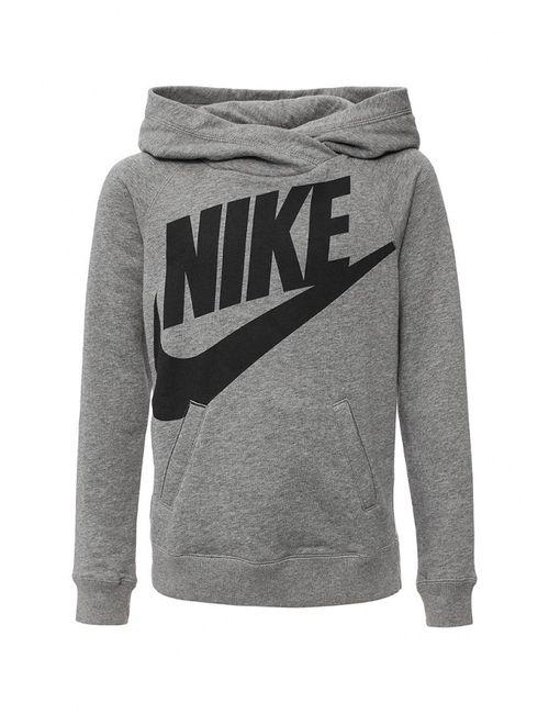 Nike | Женские Серые Худи
