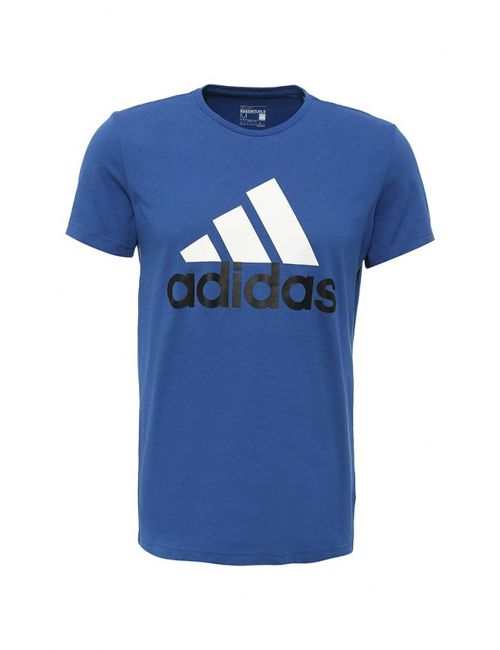 adidas Performance | Мужская Синяя Футболка Спортивная