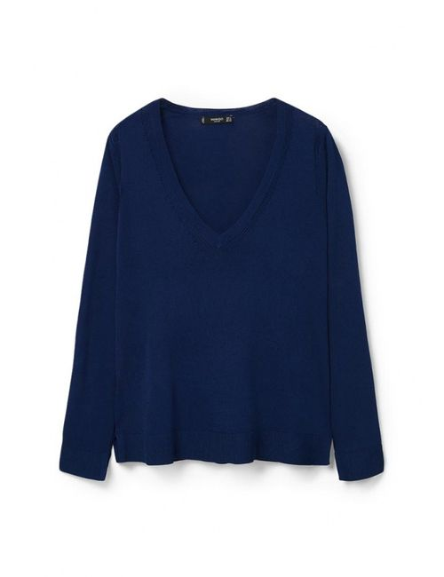 Mango | Женский Синий Пуловер