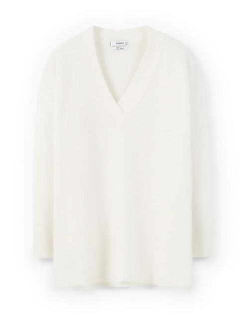 Mango | Женский Белый Пуловер