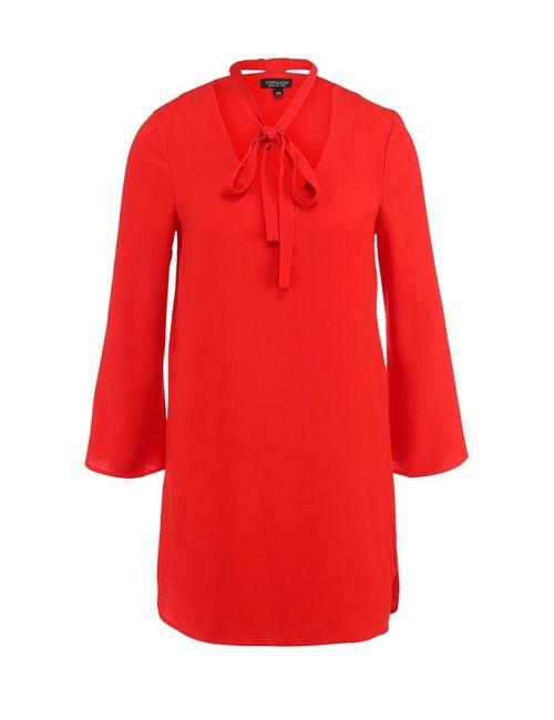 Topshop | Женское Красное Платье