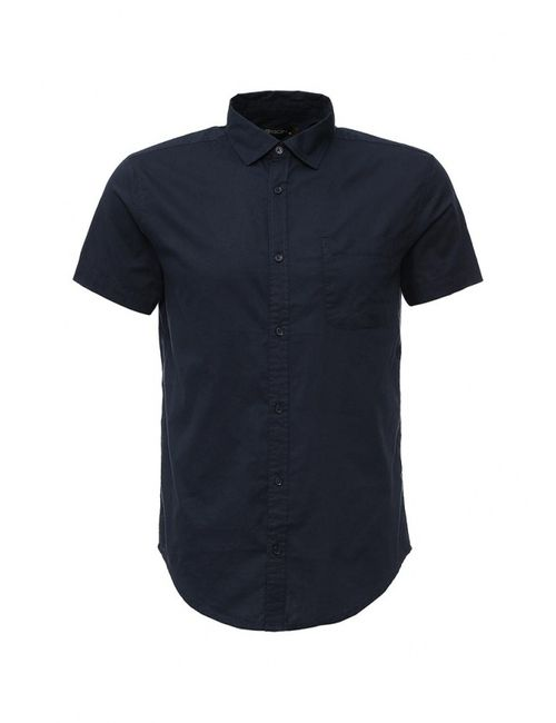 Baon   Мужская Синяя Рубашка