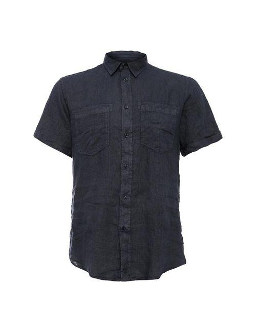 Trussardi Jeans   Мужская Синяя Рубашка