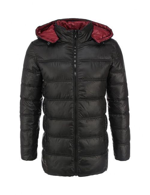 Justboy | Мужская Чёрная Куртка Утепленная