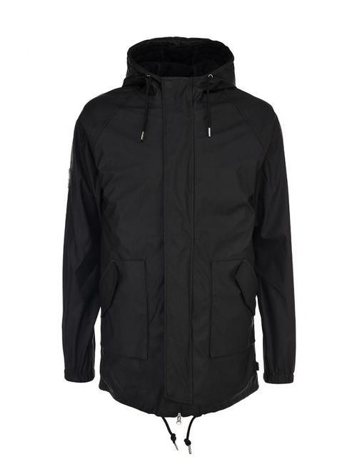 Bellfield | Мужская Чёрная Куртка Утепленная