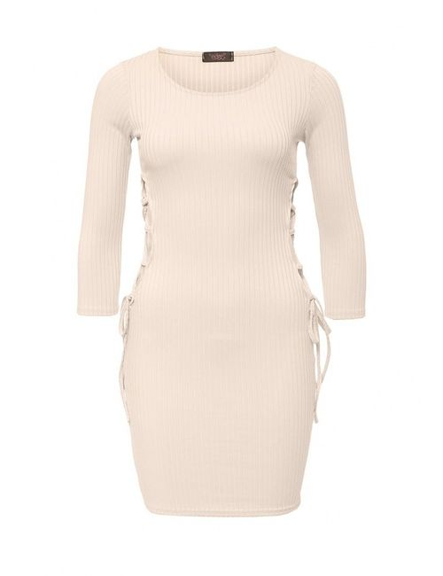 Edge Clothing | Женское Бежевое Платье