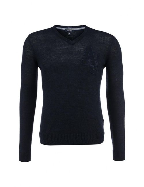 ARMANI JEANS | Мужской Синий Пуловер