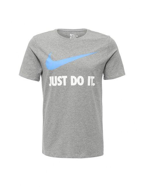 Nike   Мужская Серая Футболка