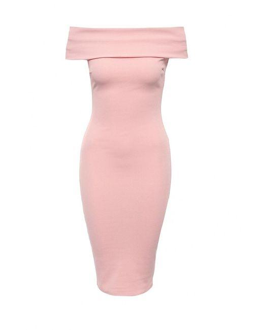 City Goddess | Женское Розовое Платье