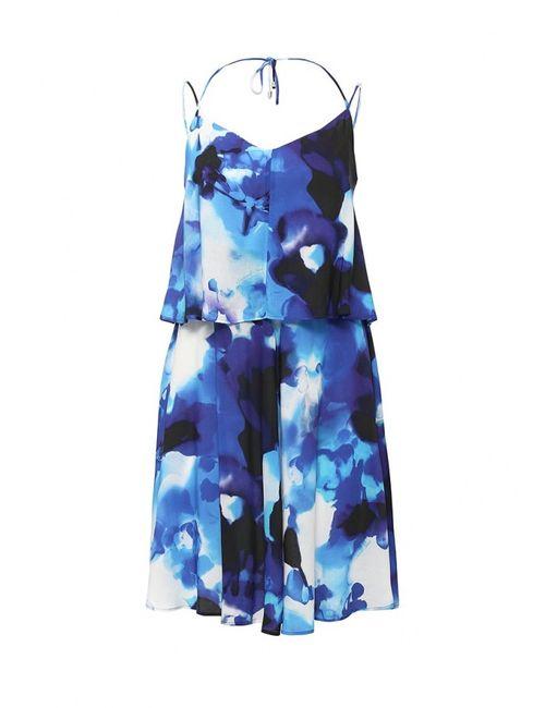 Trussardi Jeans | Женское Многоцветное Платье