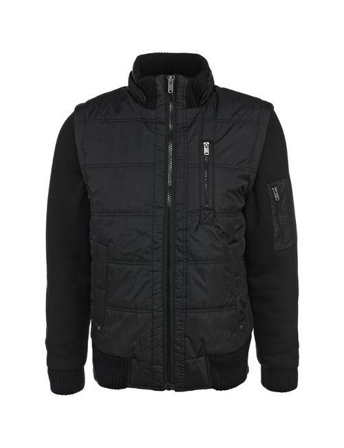 Sela | Мужская Чёрная Куртка Утепленная
