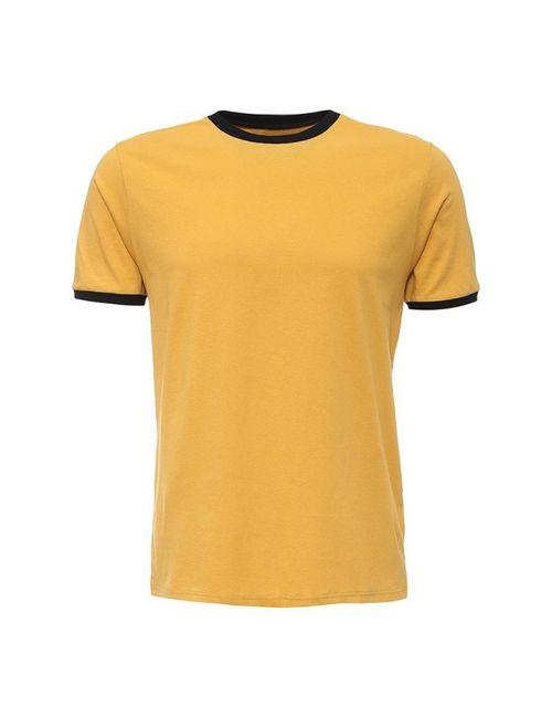 Topman | Мужская Жёлтая Футболка