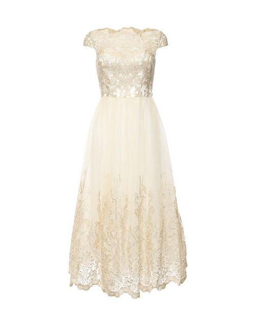 Chi Chi London | Женское Золотое Платье
