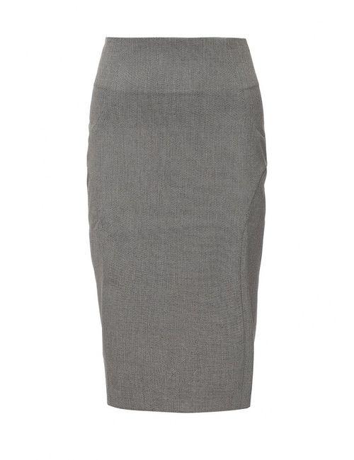 Sisley | Женская Серая Юбка