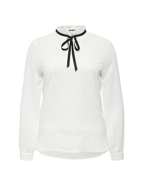 Jennyfer | Женская Белая Блуза