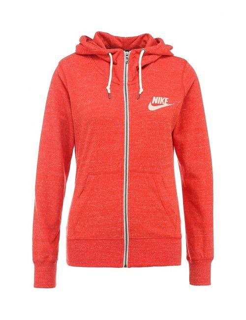 Nike | Женская Оранжевая Толстовка