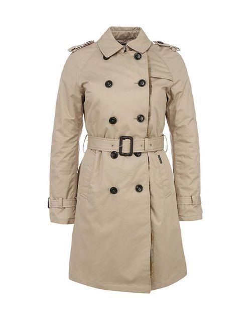 Woolrich | Женская Бежевая Куртка Утепленная