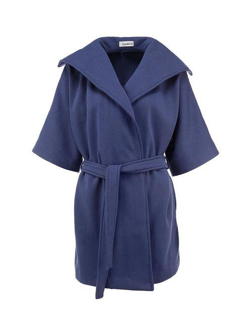 Tutto Bene | Женское Синее Пальто