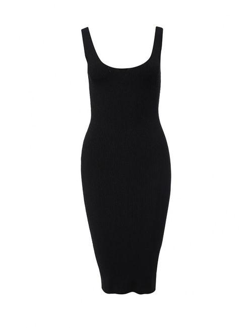 Liu •Jo   Женское Чёрное Платье Liu Jo