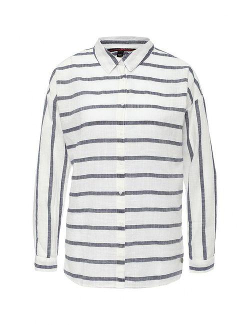 Tom Tailor Denim | Женская Белая Рубашка