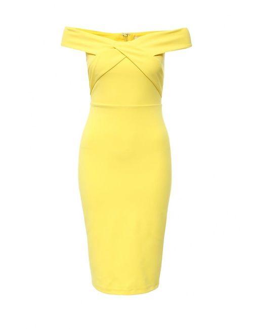 River Island | Женское Жёлтое Платье