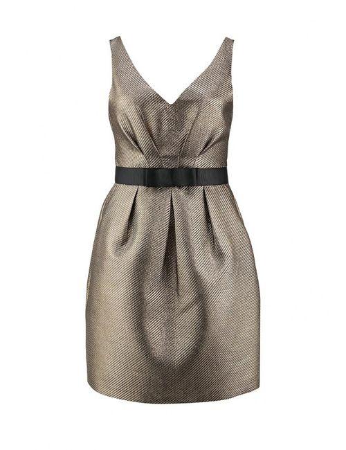 Warehouse | Женское Золотое Платье