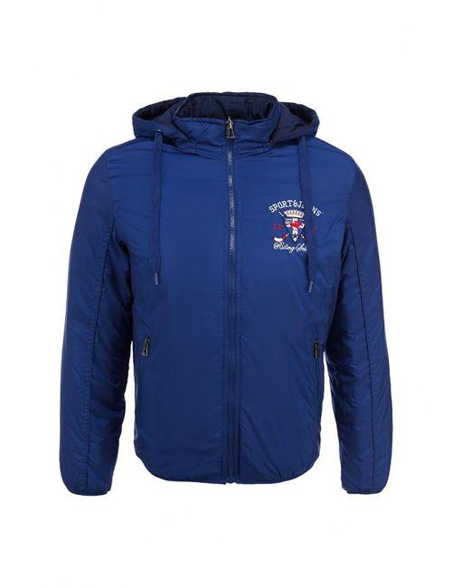 S&J | Мужская Синяя Куртка Утепленная