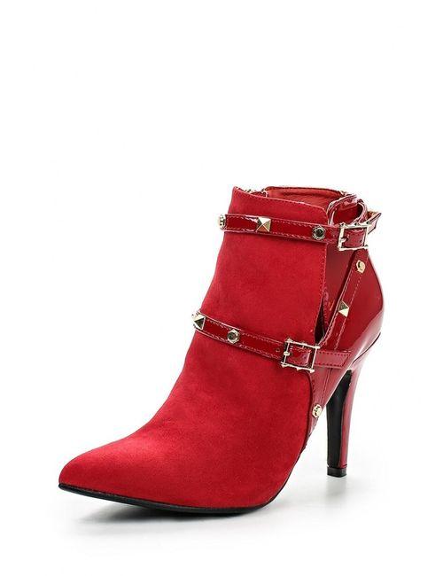 Ideal | Женские Красные Ботильоны