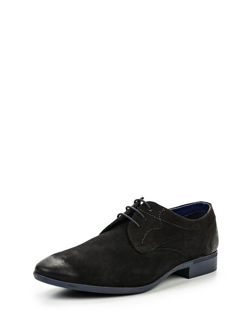 Bugatti | Мужские Чёрные Туфли