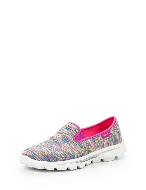 Skechers | Женские Многоцветные Слипоны