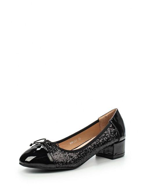 Mada-Emme | Женские Чёрные Туфли