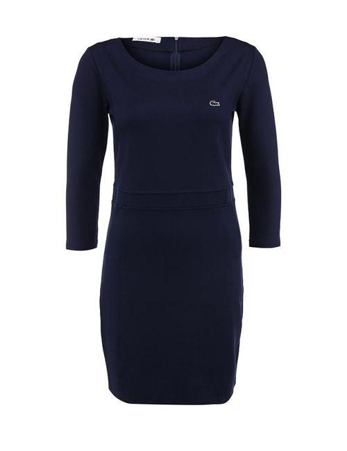 Lacoste | Женское Синее Платье