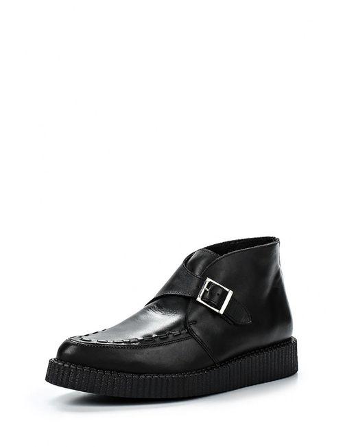Topshop | Женские Чёрные Ботинки