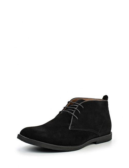 Burton Menswear London | Мужские Чёрные Ботинки Классические