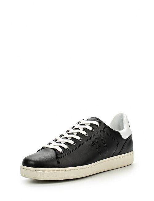 Trussardi Jeans | Мужские Чёрные Кеды