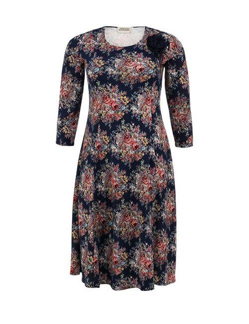 Indiano Natural | Женское Многоцветное Платье