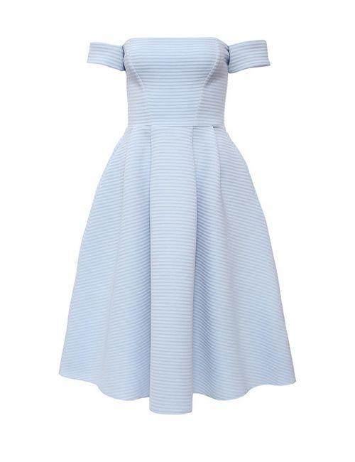 Goddiva   Женское Голубой Платье