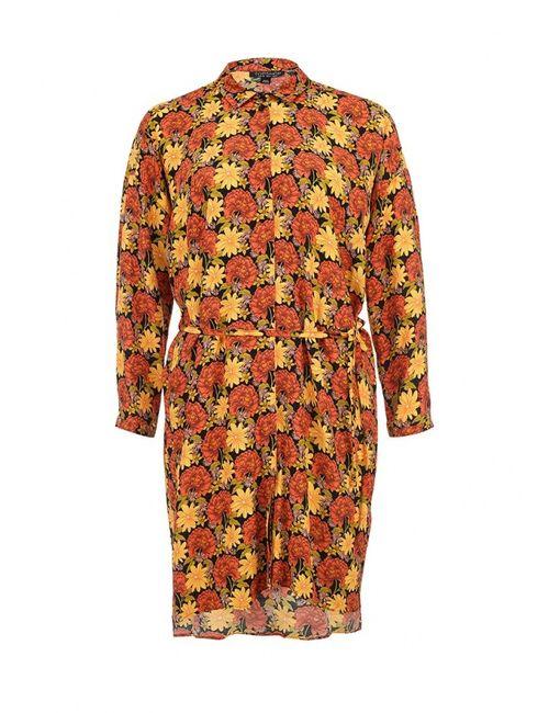 Topshop | Женское Оранжевое Платье