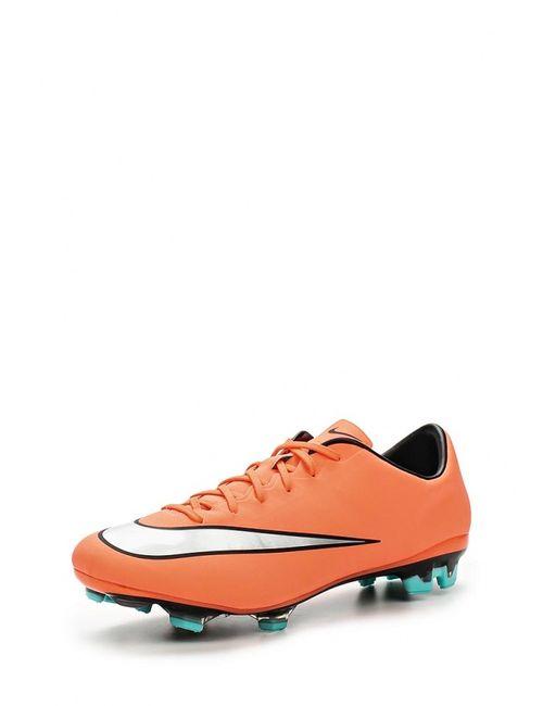 Nike | Мужские Оранжевые Бутсы