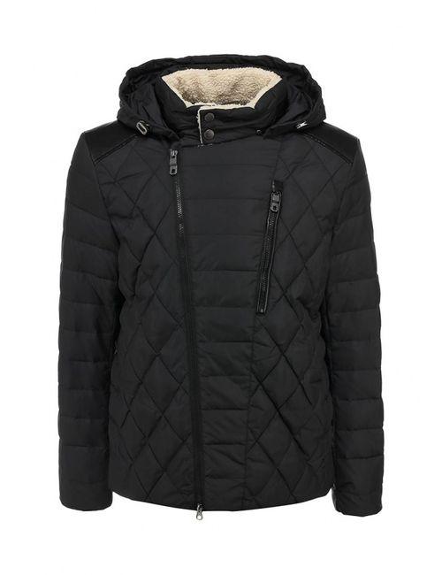 Clasna | Мужская Черный Куртка Утепленная