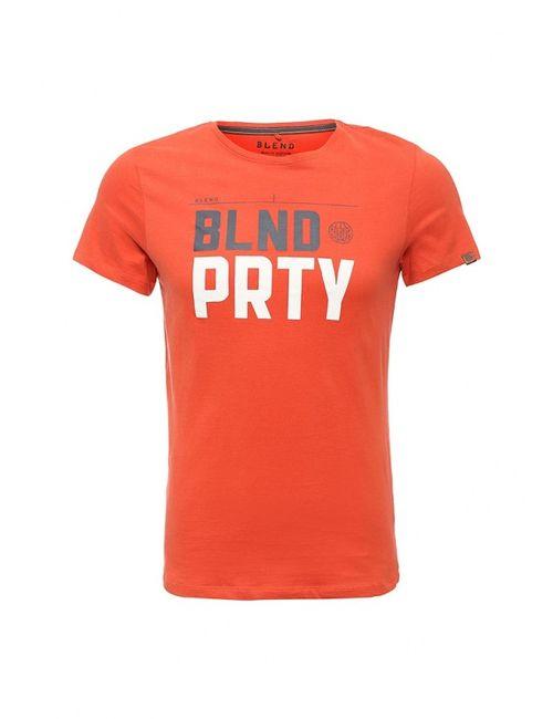 Blend | Мужская Оранжевая Футболка