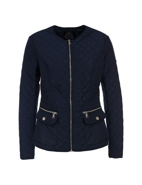 Finn Flare | Женская Синяя Куртка Утепленная