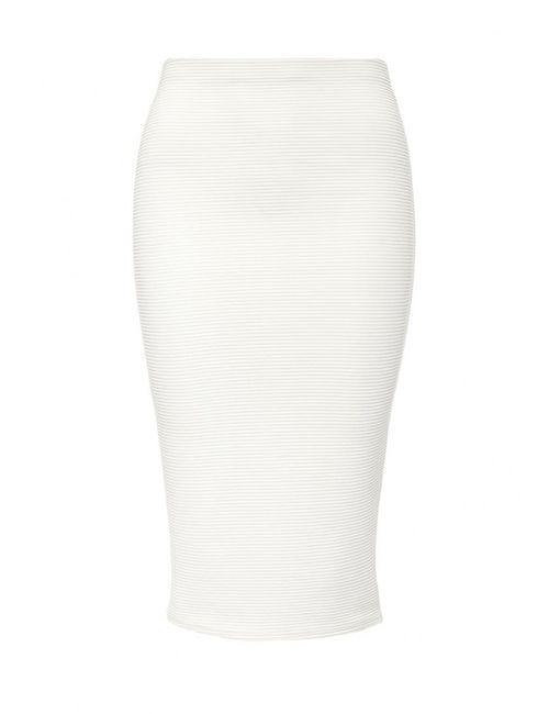 Edge Clothing | Женская Белая Юбка