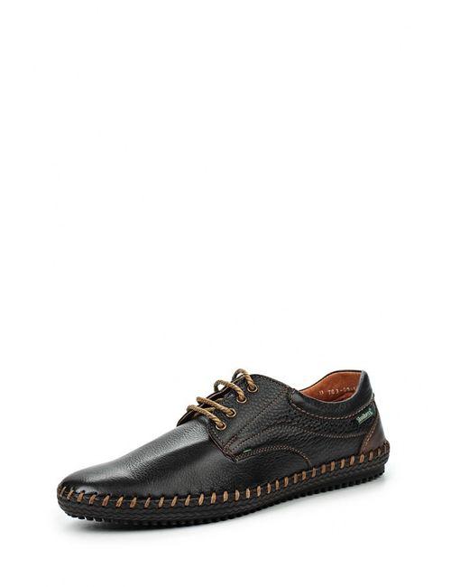 SHOIBERG | Мужские Коричневые Туфли